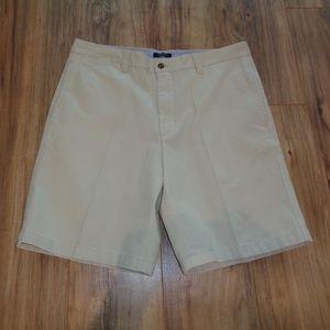 Club Room Pebble Cotton Mens Flat Front Shorts